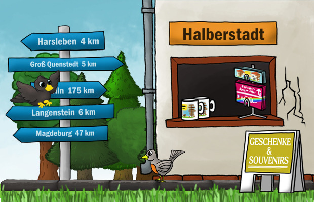 Geschenke Laden Halberstadt