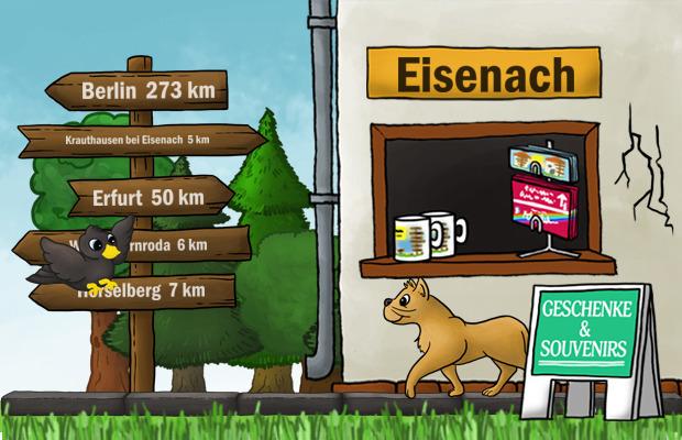 Geschenke Laden Eisenach