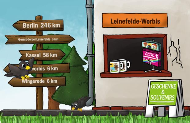 Geschenke Laden Leinefelde-Worbis