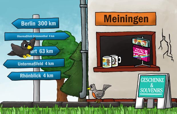 Geschenke Laden Meiningen