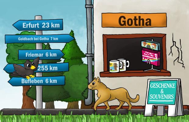 Geschenke Laden Gotha