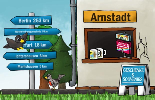 Geschenke Laden Arnstadt