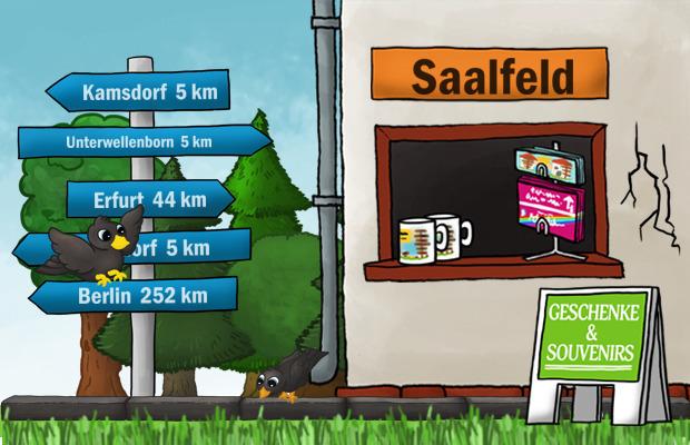 Geschenke Laden Saalfeld