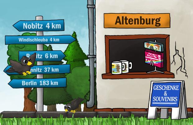 Geschenke Laden Altenburg