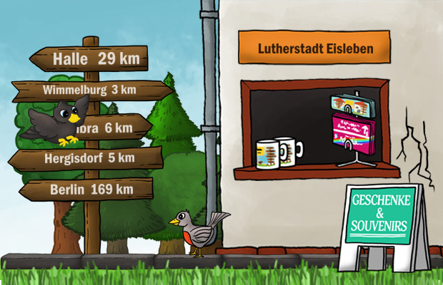 Geschenke Laden Lutherstadt Eisleben