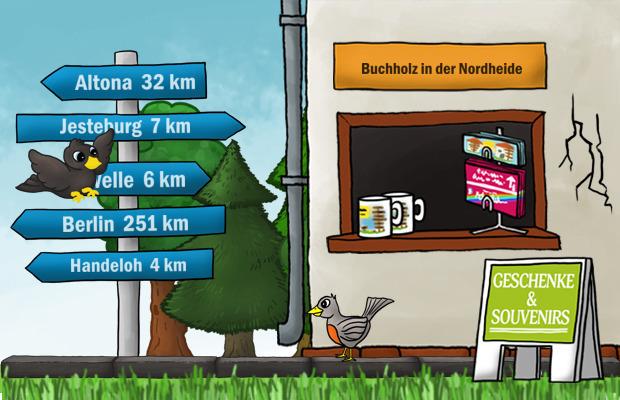 Geschenke Laden Buchholz in der Nordheide