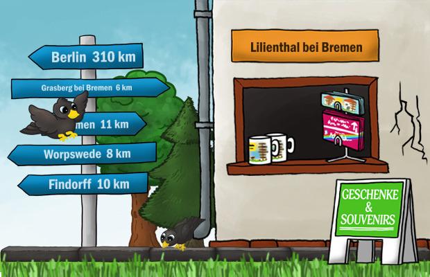 Geschenke Laden Lilienthal bei Bremen