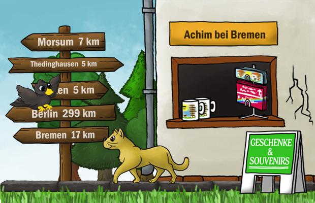 Geschenke Laden Achim bei Bremen