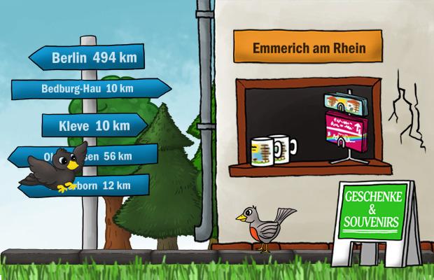 Geschenke Laden Emmerich am Rhein