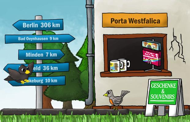 Geschenke Laden Porta Westfalica