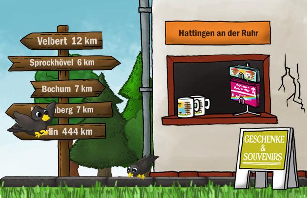 Geschenke Laden Hattingen an der Ruhr