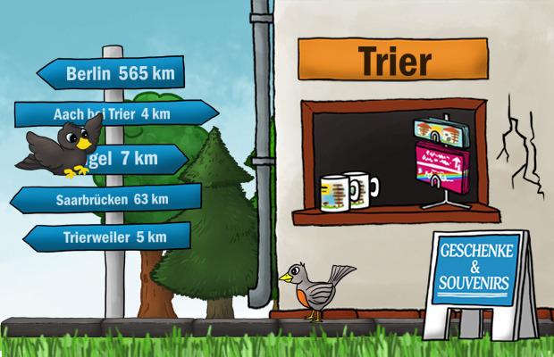 Geschenke Laden Trier