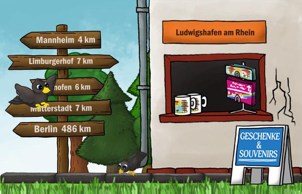Geschenke Laden Ludwigshafen am Rhein