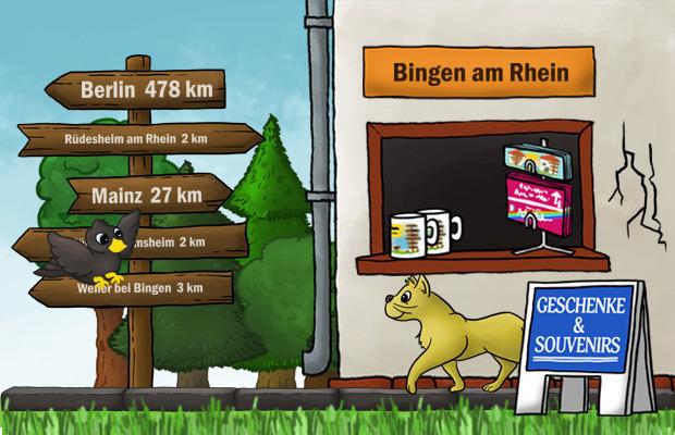 Geschenke Laden Bingen am Rhein