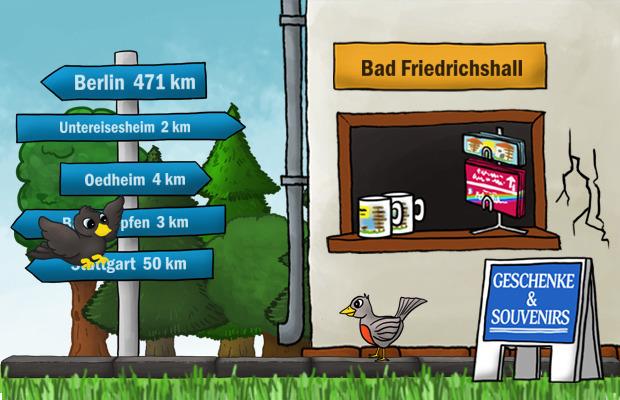 Geschenke Laden Bad Friedrichshall