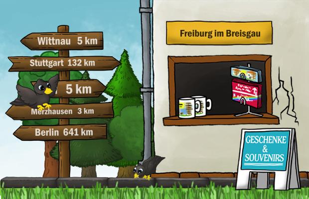 Geschenke Laden Freiburg im Breisgau