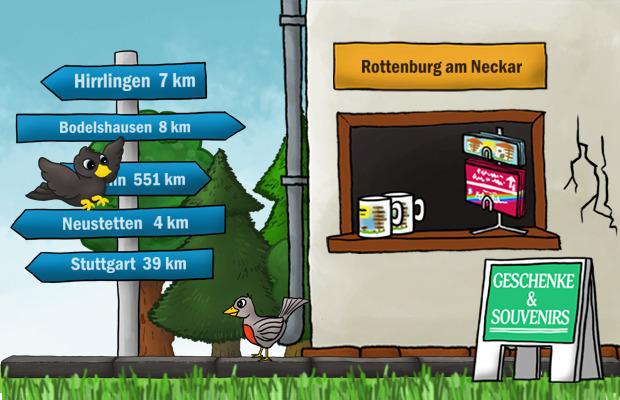 Geschenke Laden Rottenburg am Neckar