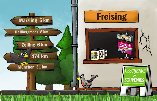 Geschenke Laden Freising