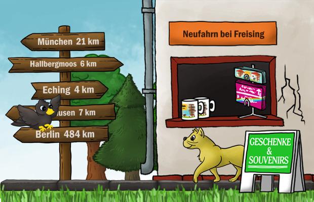 Geschenke Laden Neufahrn bei Freising