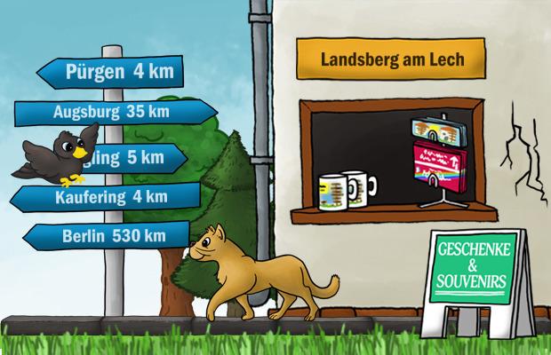 Geschenke Laden Landsberg am Lech