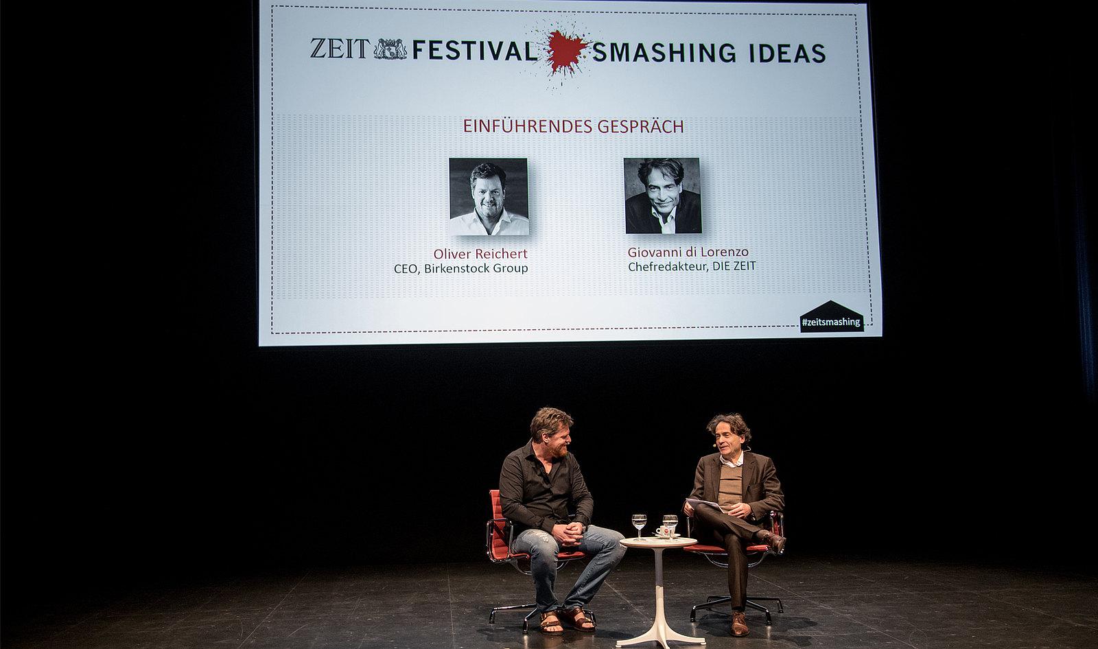 """ZEIT Konferenz """"Smashing Ideas"""": Birkenstock Group"""
