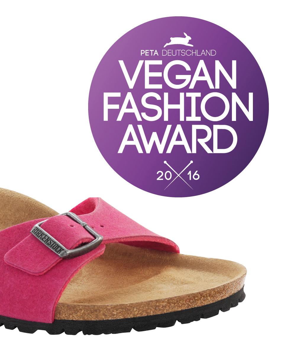 "Delete: BIRKENSTOCK wins ""Vegan Fashion Award 2016"