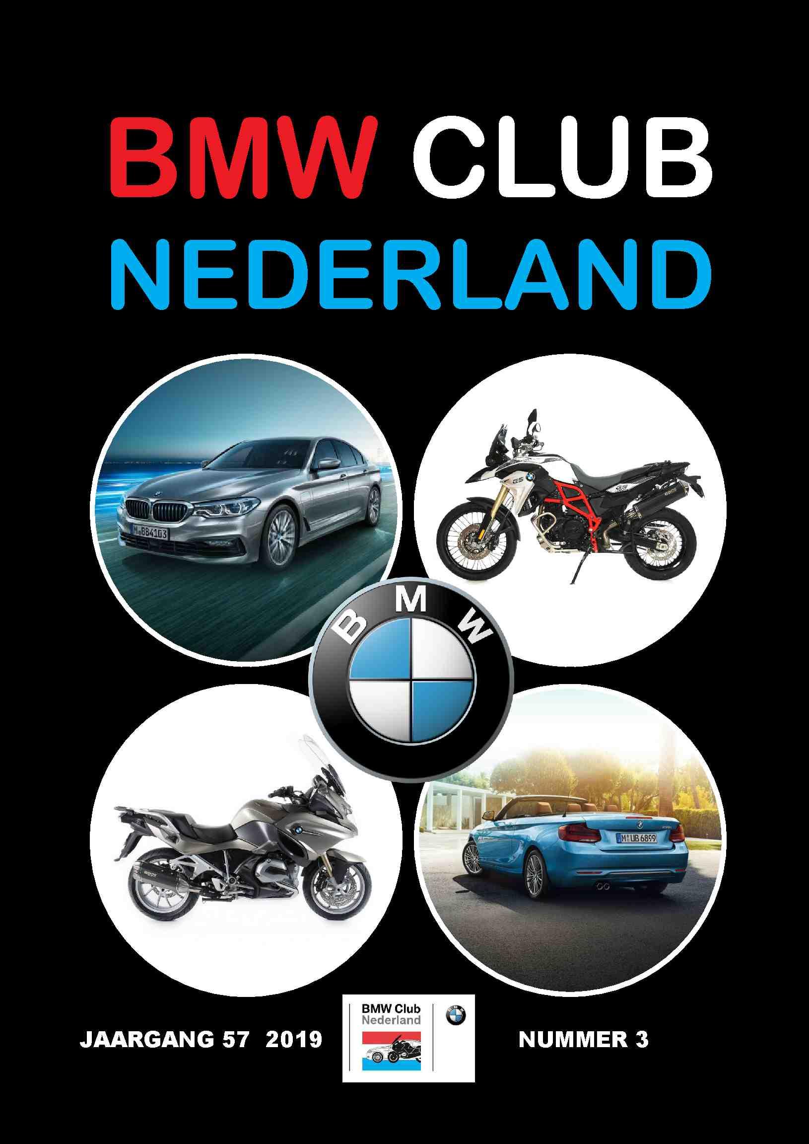 """Voorbeeld Clubblad laten drukken: """"BMW Club Nederland"""""""