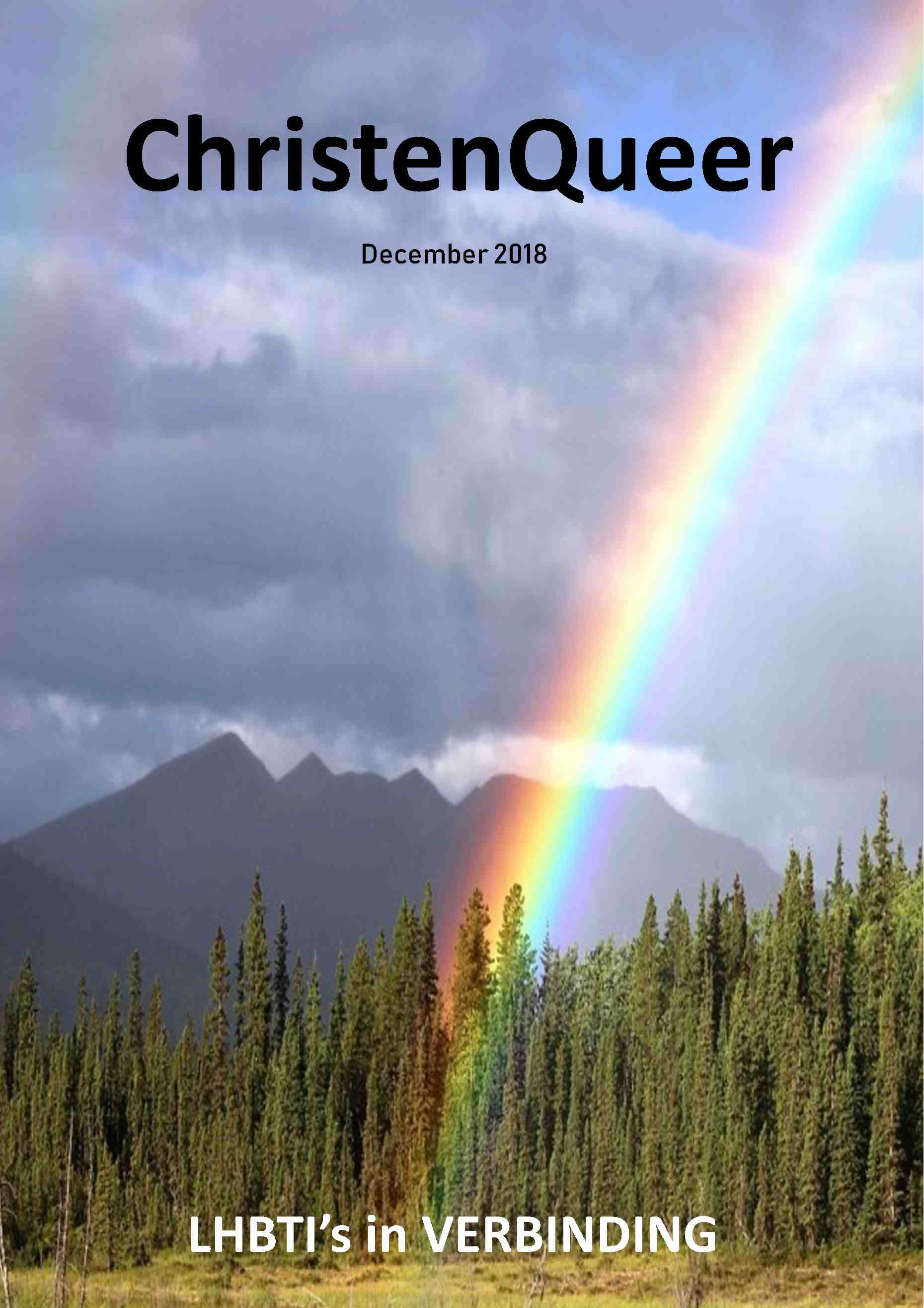 Cover editie december 2018