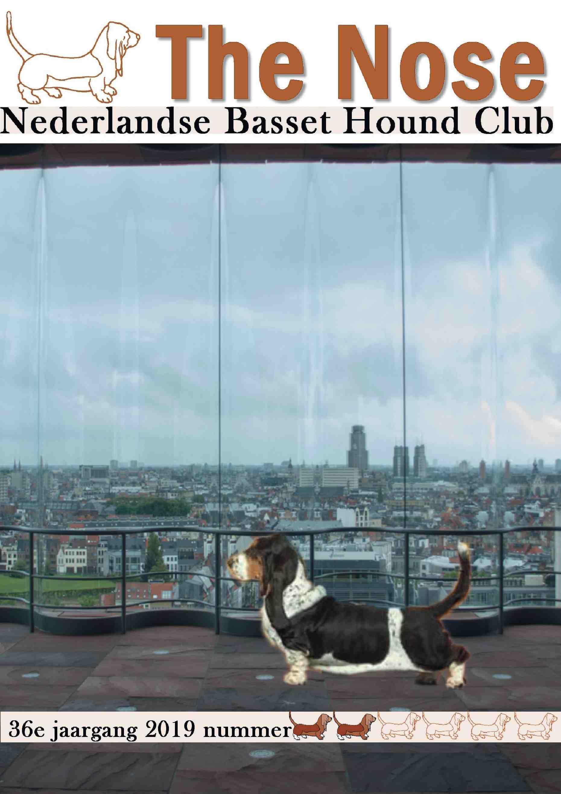 "Voorbeeld Clubblad laten drukken: ""Nederlandse Basset Hound Club"""