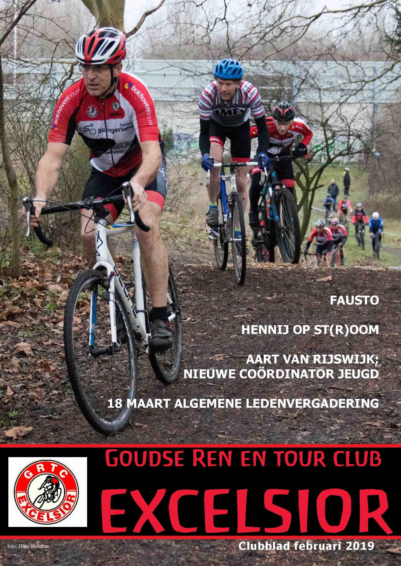 """Voorbeeld Clubblad: """"Goudse Ren en Tour Club Excelsior"""""""