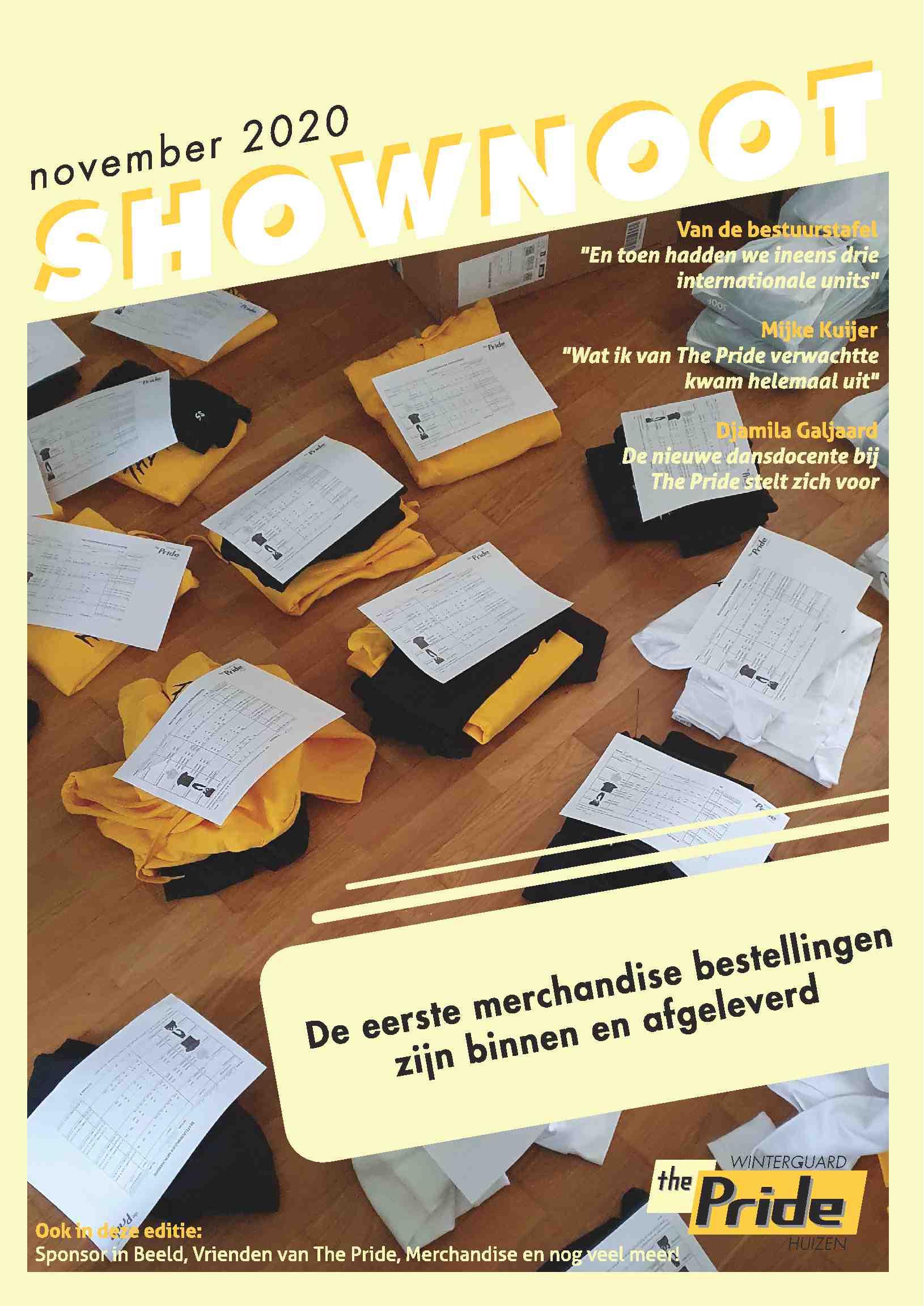 Cover editie november 2020/21