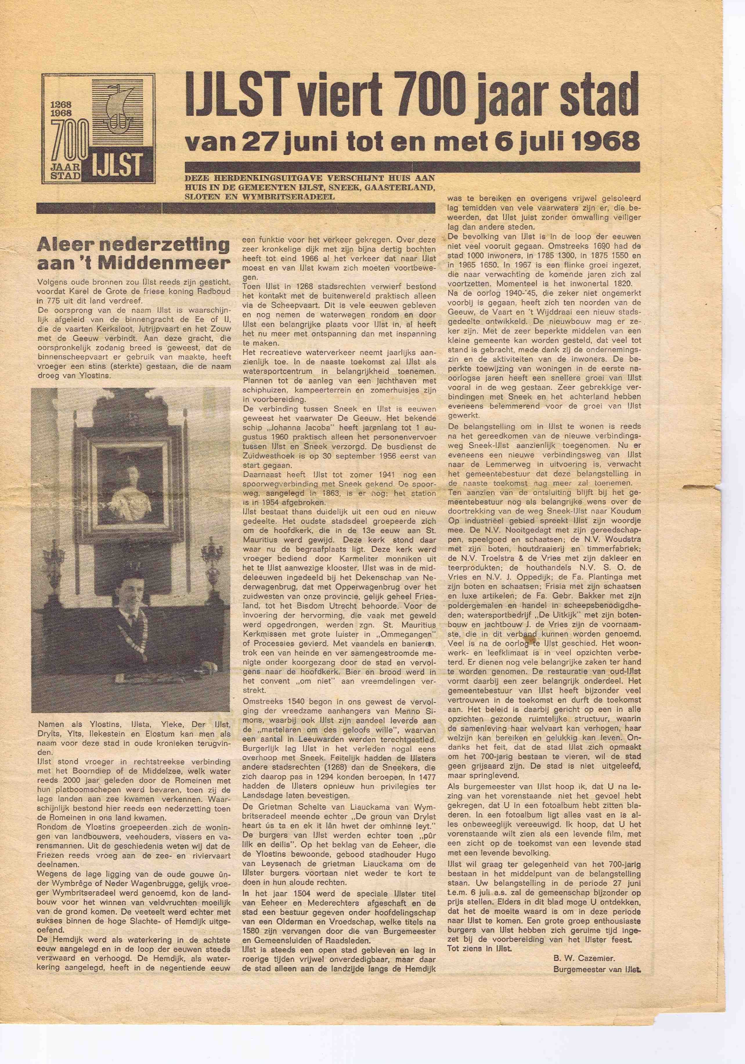 Cover editie januari 1968
