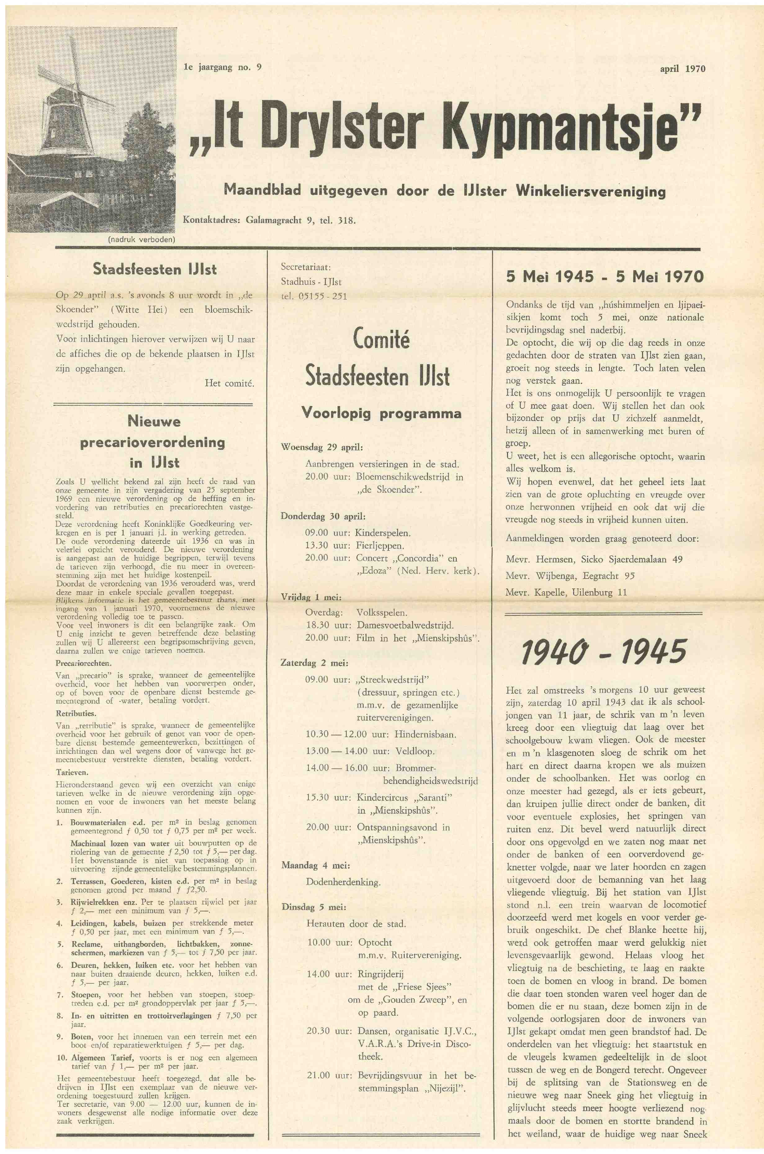 Cover editie april 1970