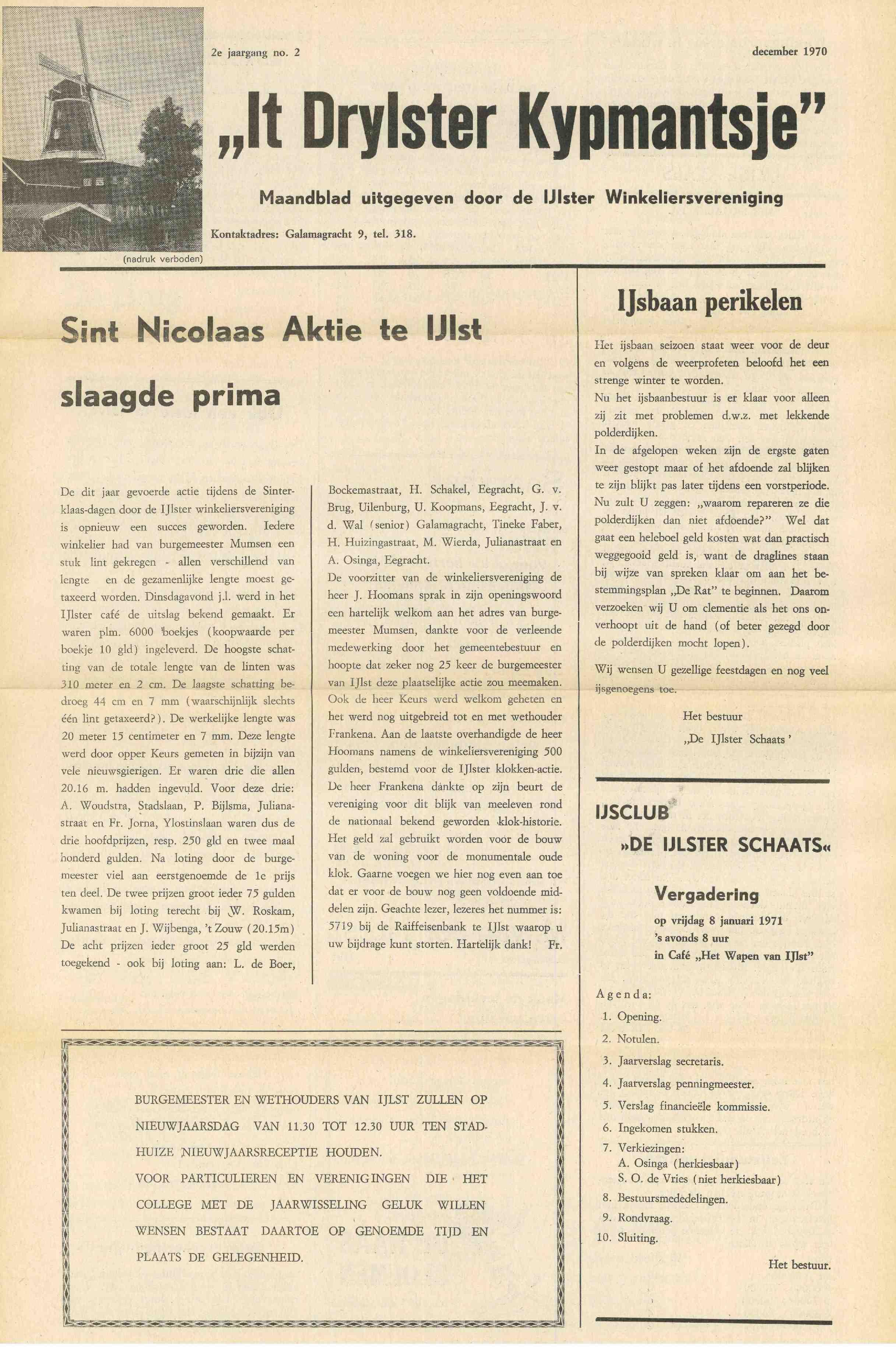 Cover editie december 1970