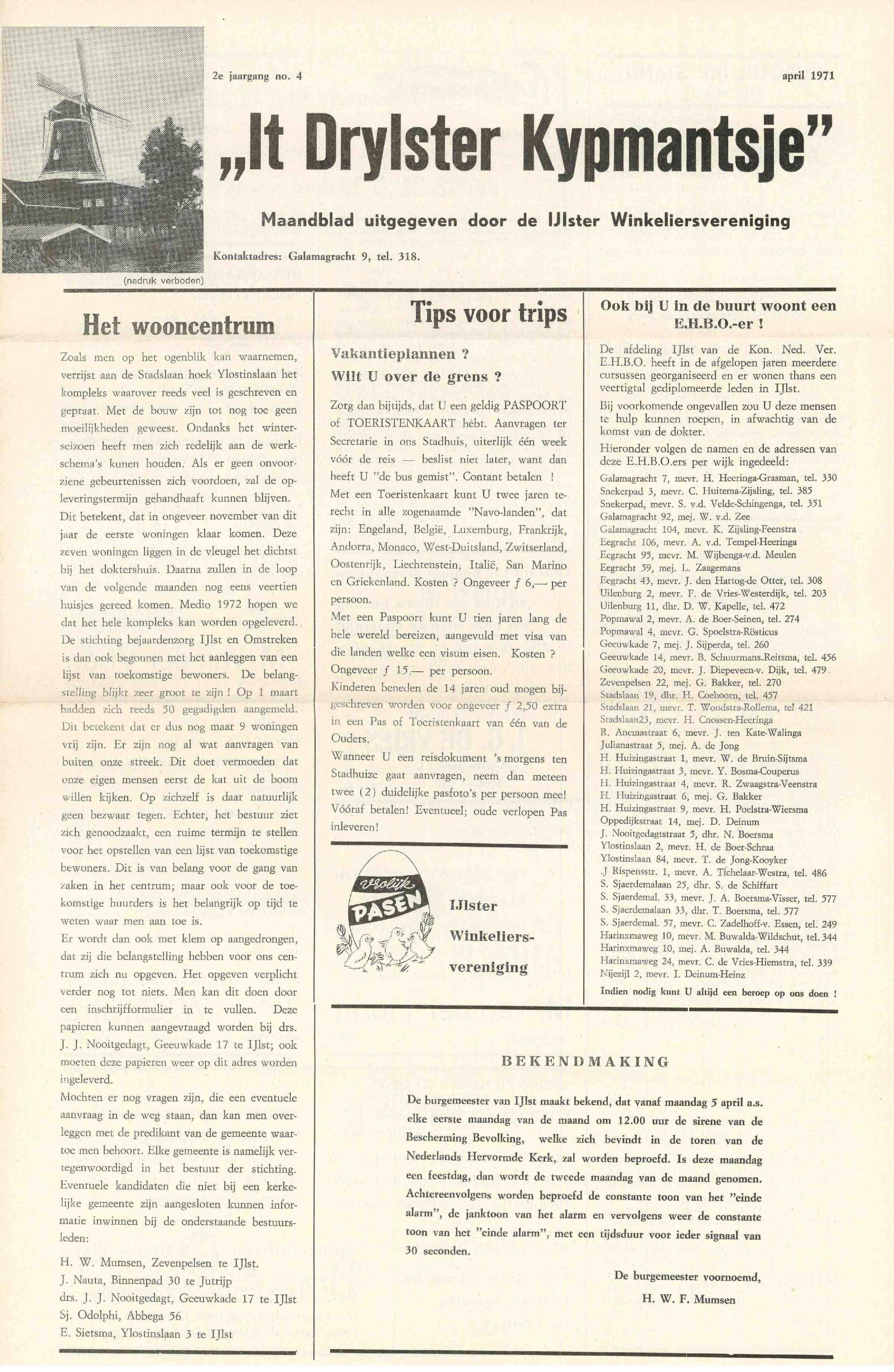 Cover editie april 1971