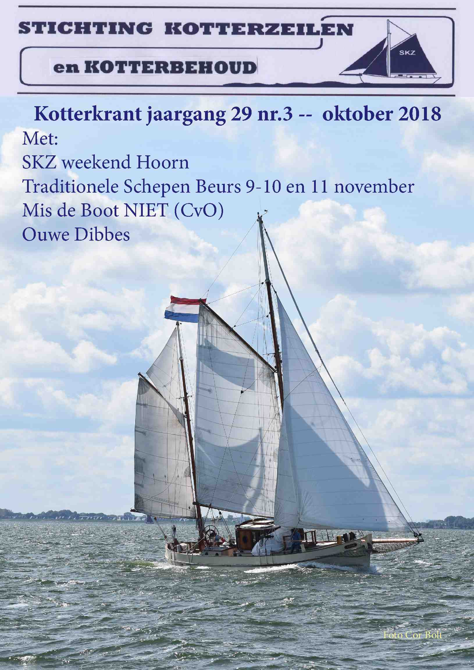 Cover editie oktober 2018