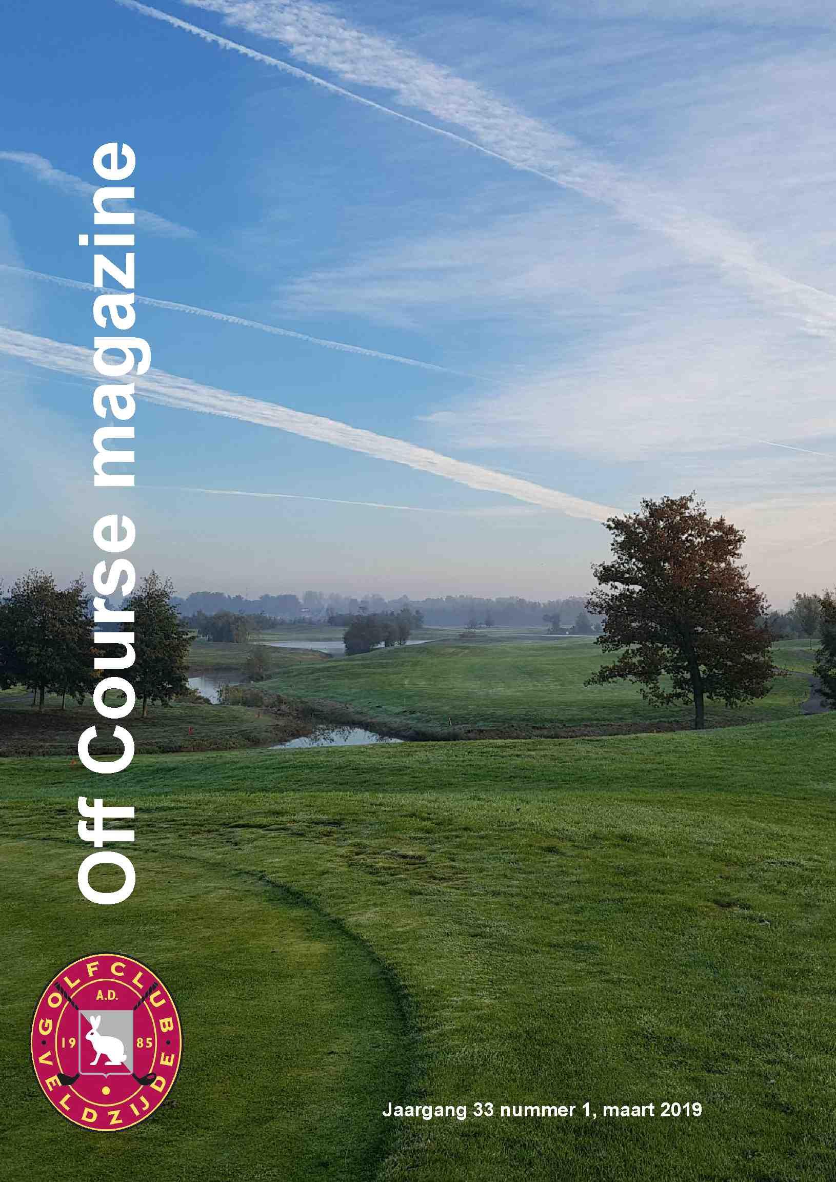 """Voorbeeld Clubblad drukken: """"Golfclub Veldzijde"""""""