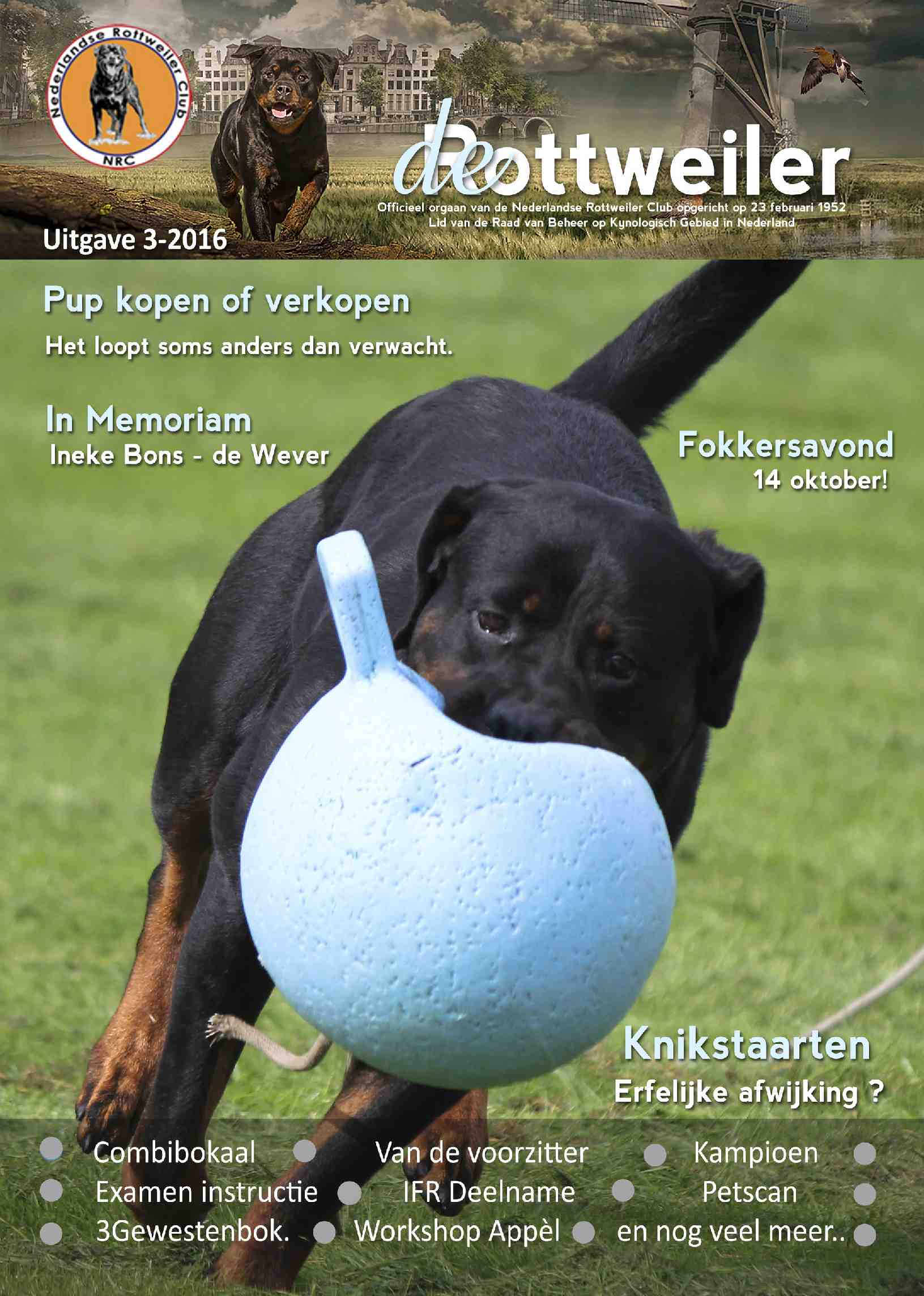 Cover editie augustus 2016