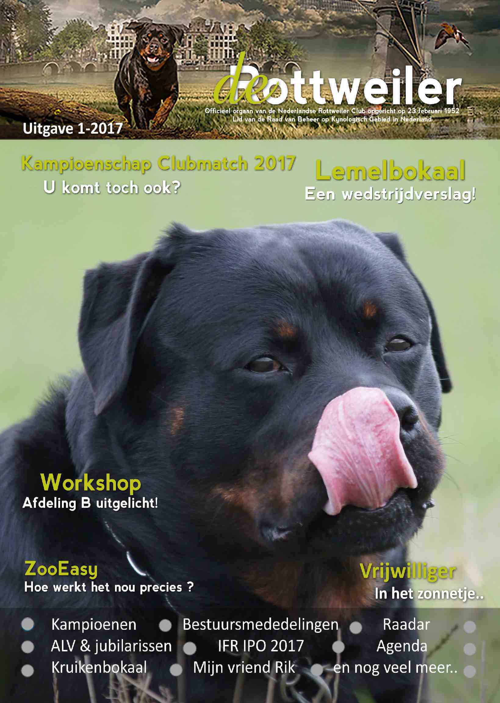 Cover editie februari 2017