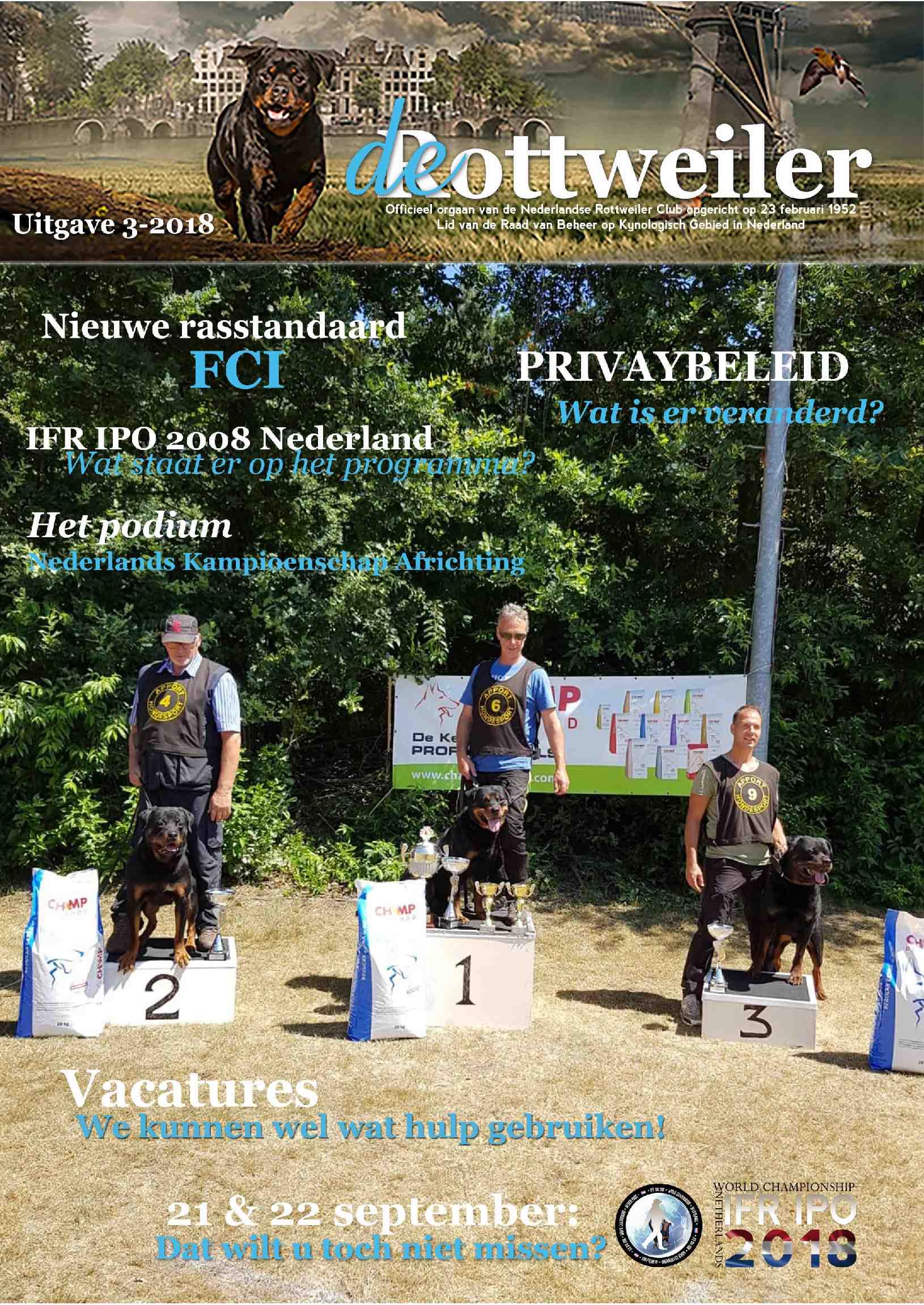 Cover editie augustus 2018