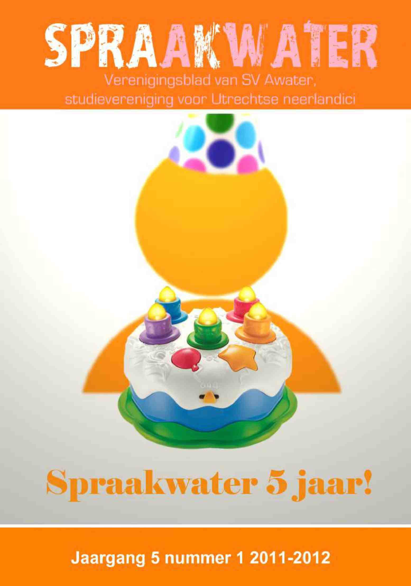 Cover editie december 2011