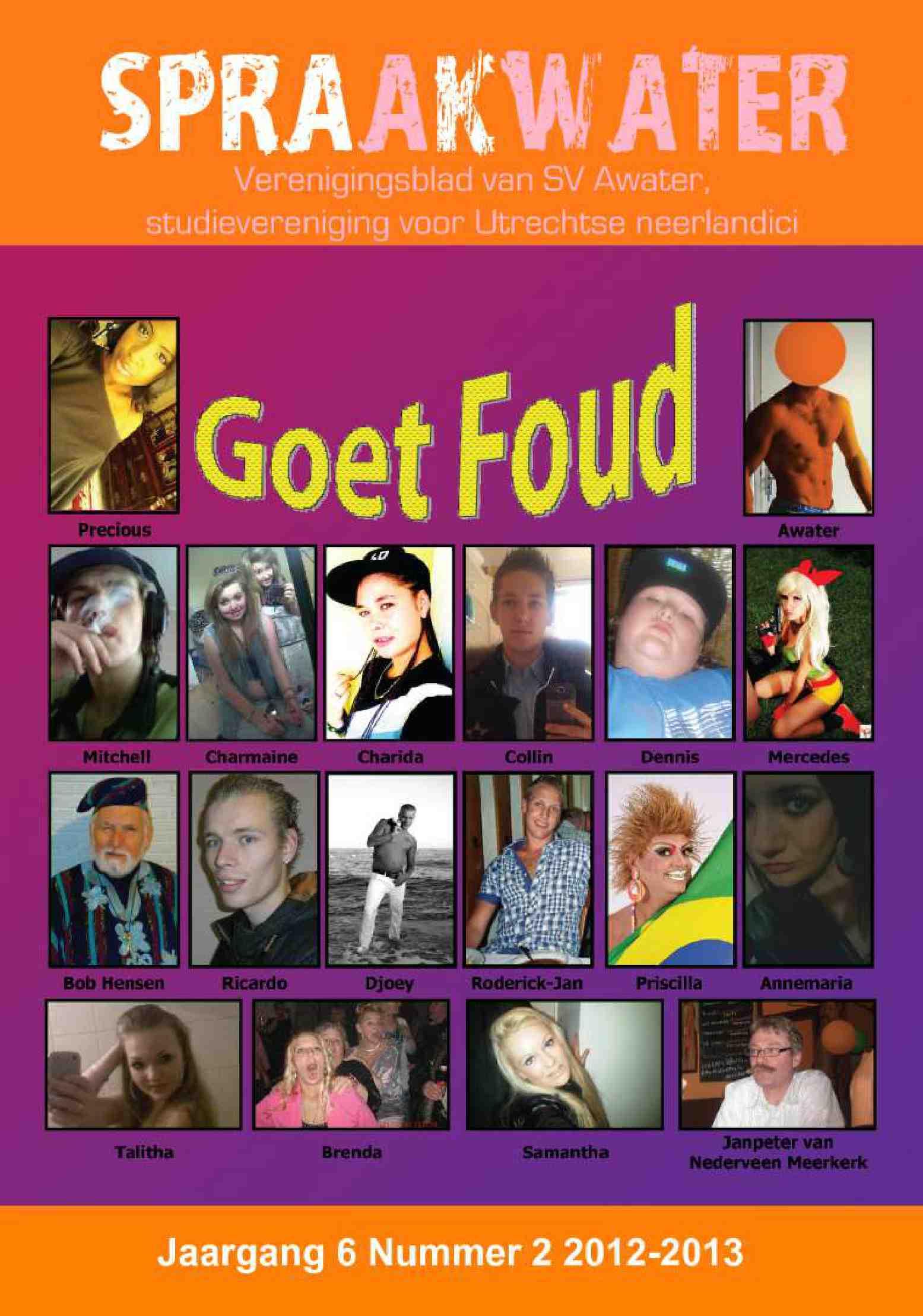 Cover editie februari 2013