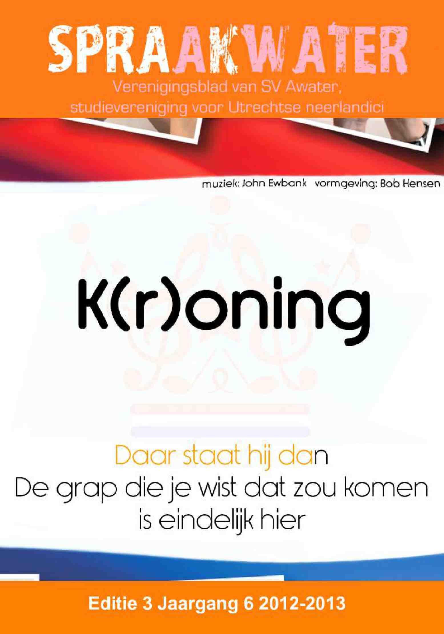 Cover editie mei 2013