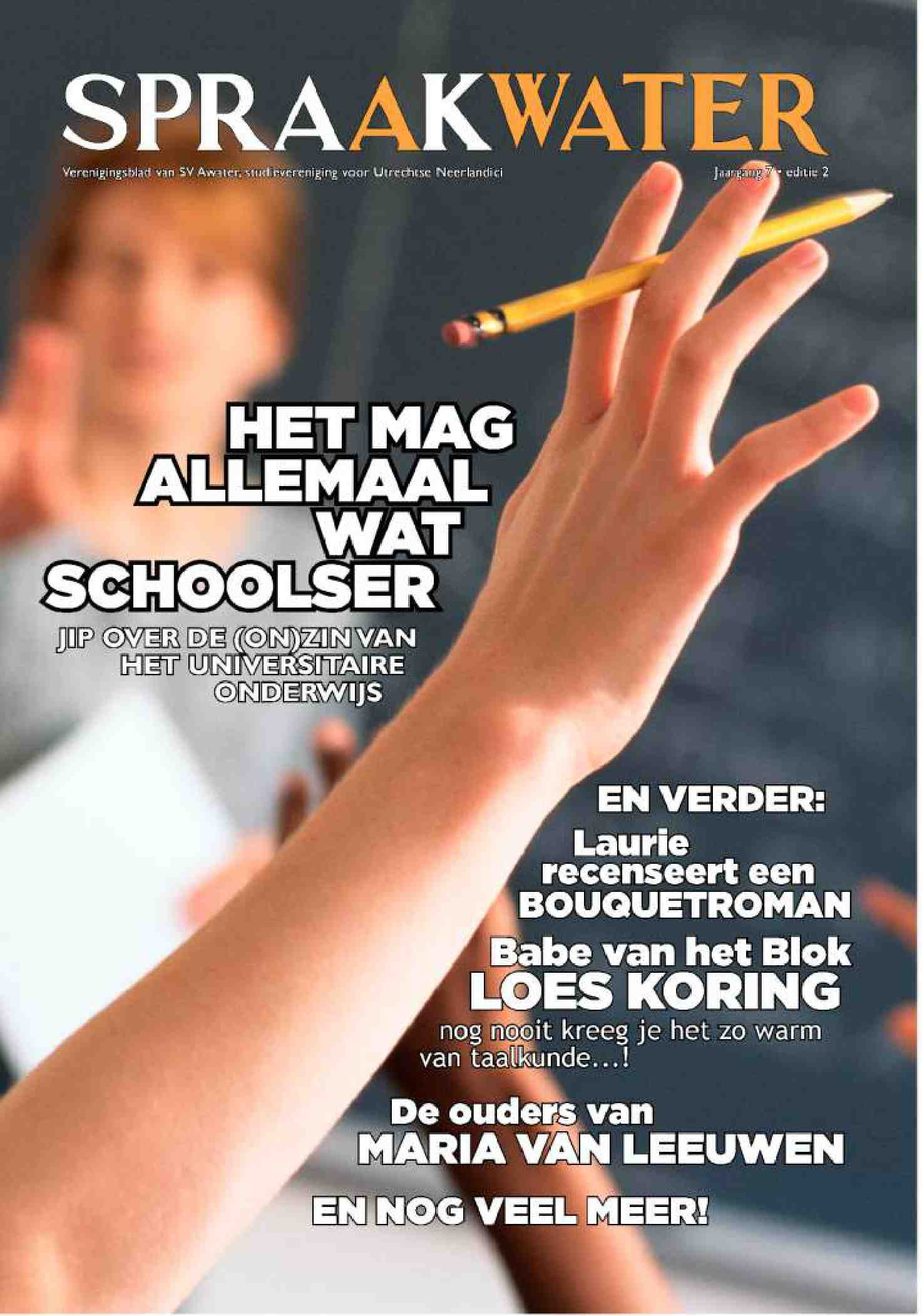 Cover editie november 2013