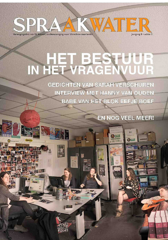 Cover editie april 2015