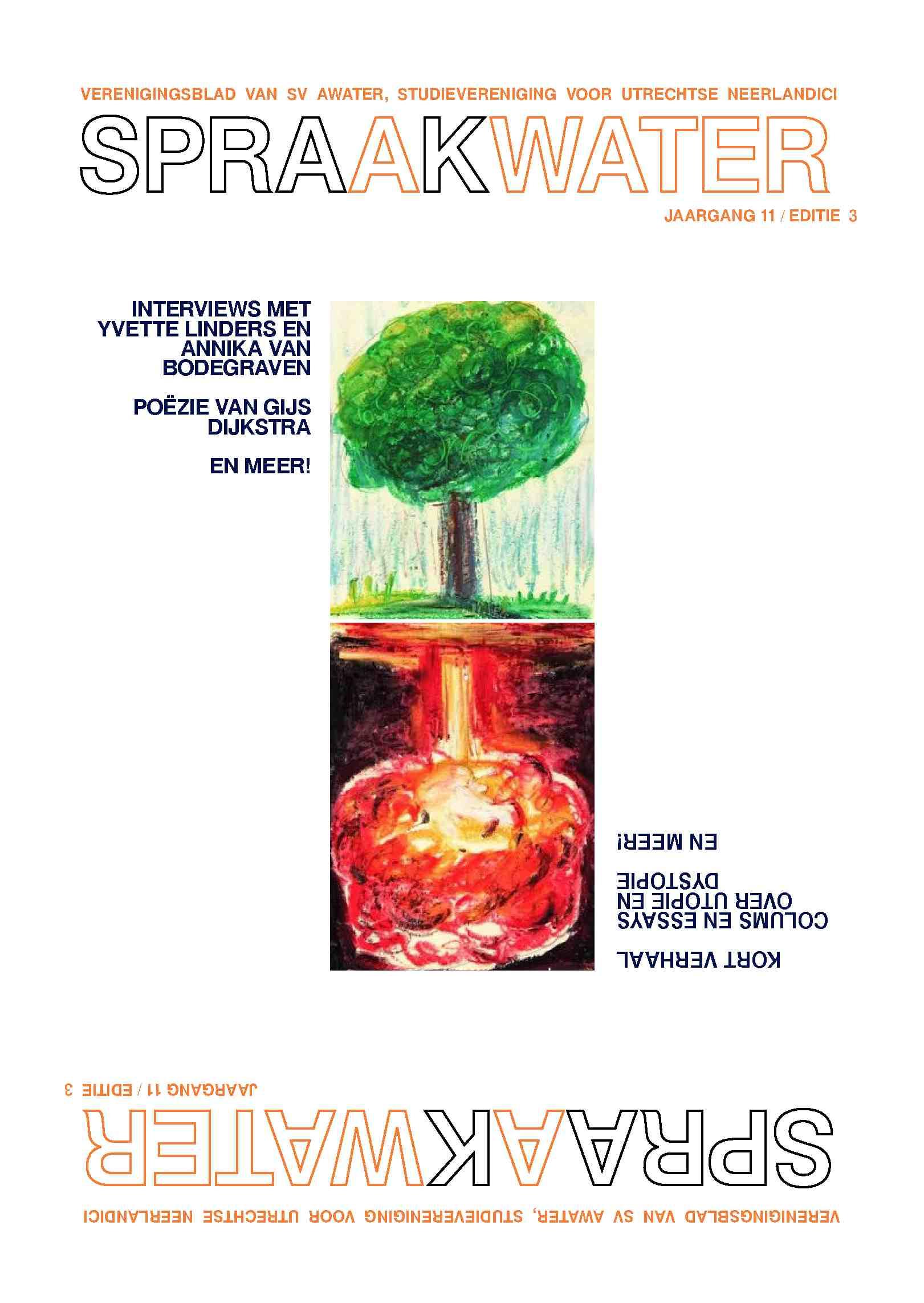 Cover editie april 2018