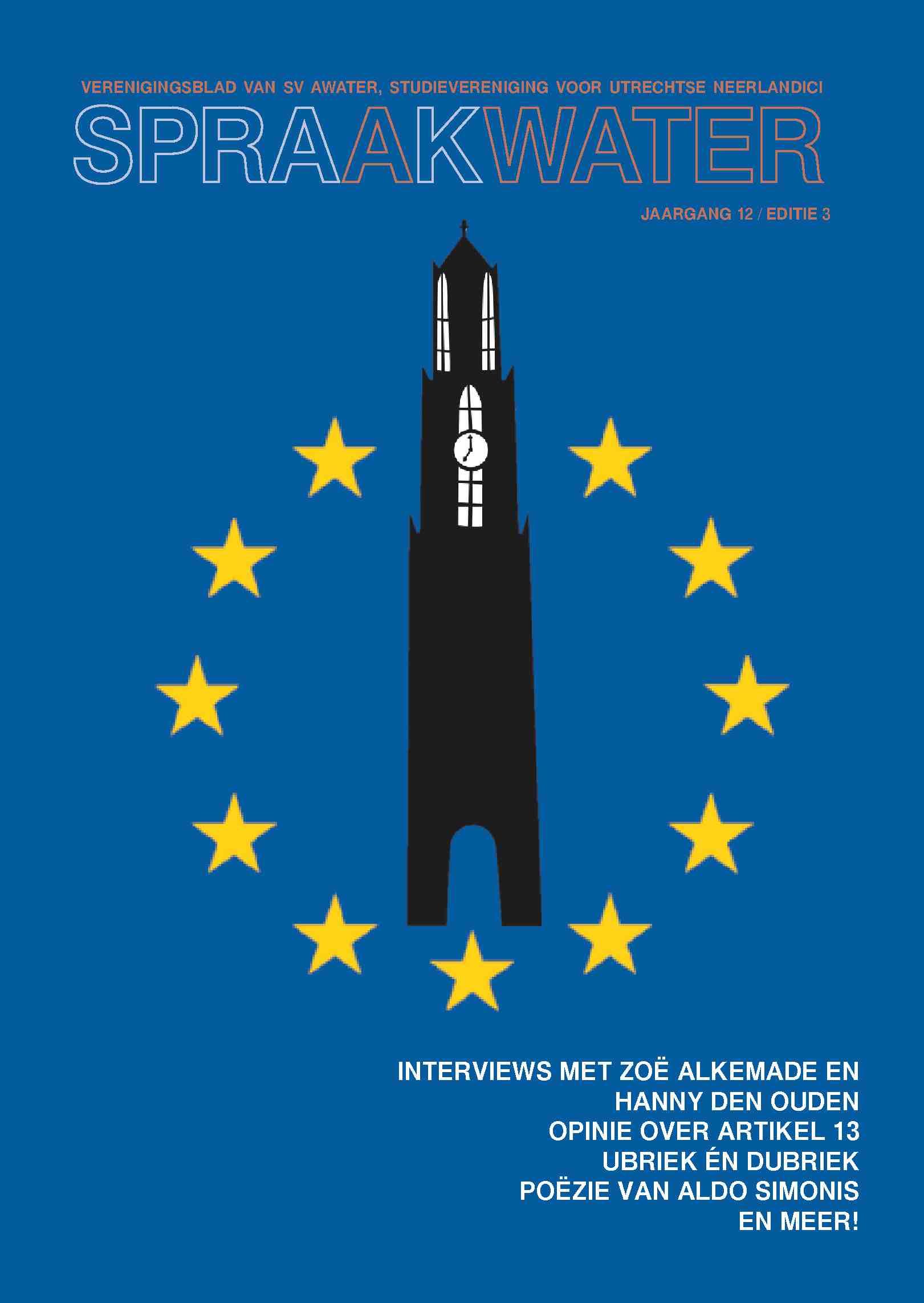Cover editie april 2019