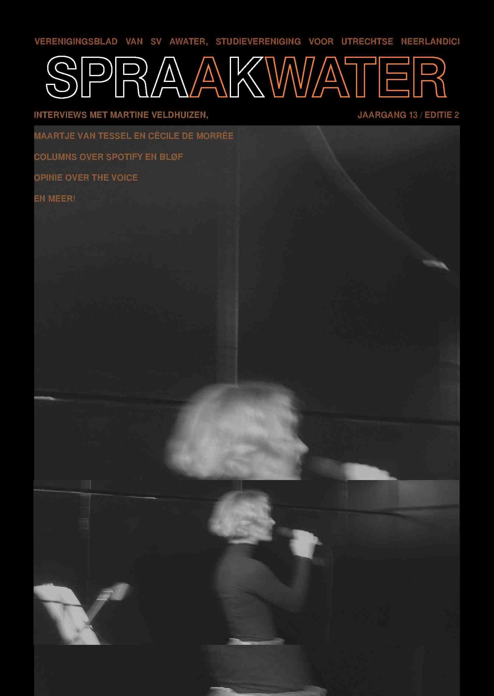 Cover editie januari 2020