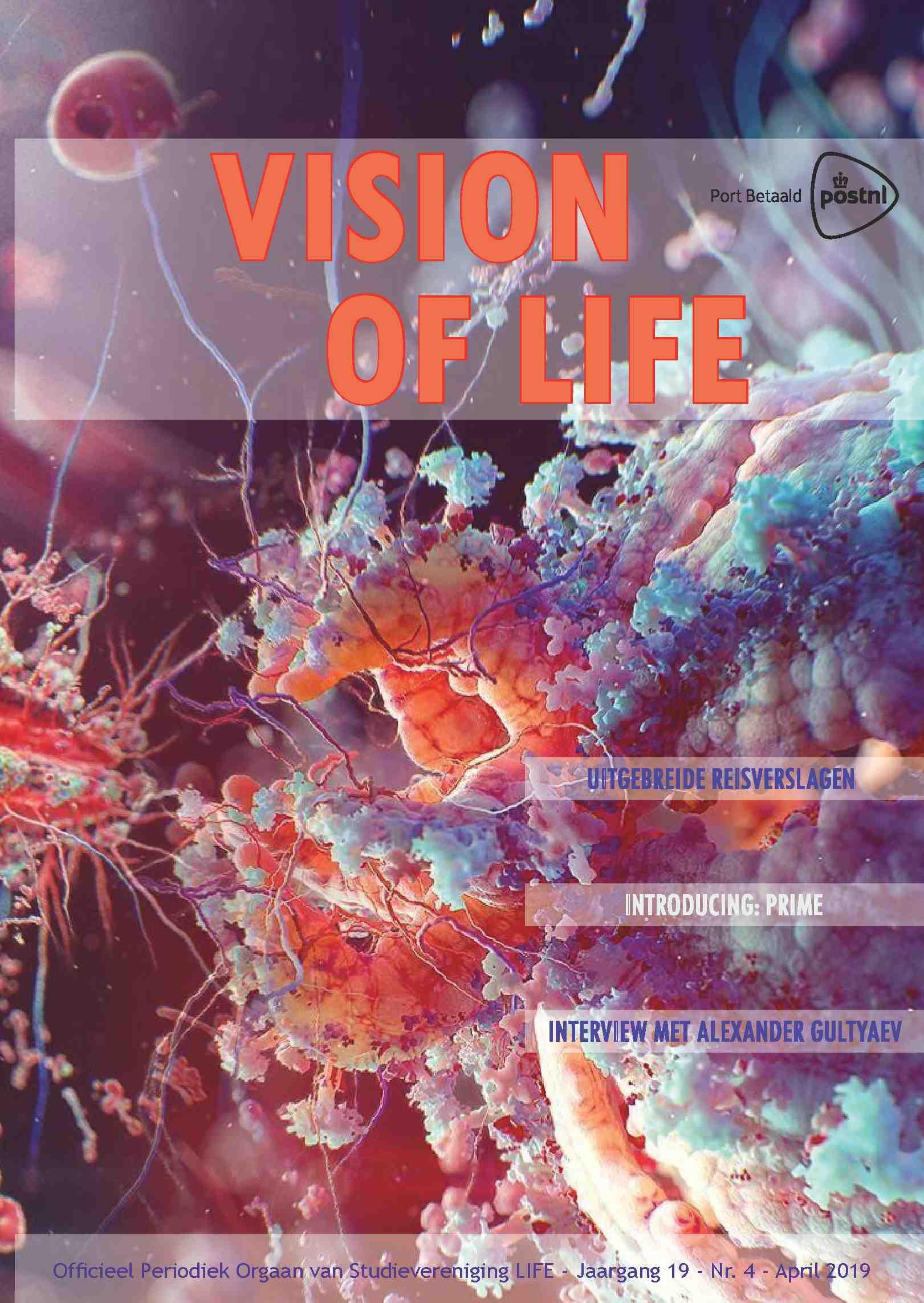 Cover editie juli 2019