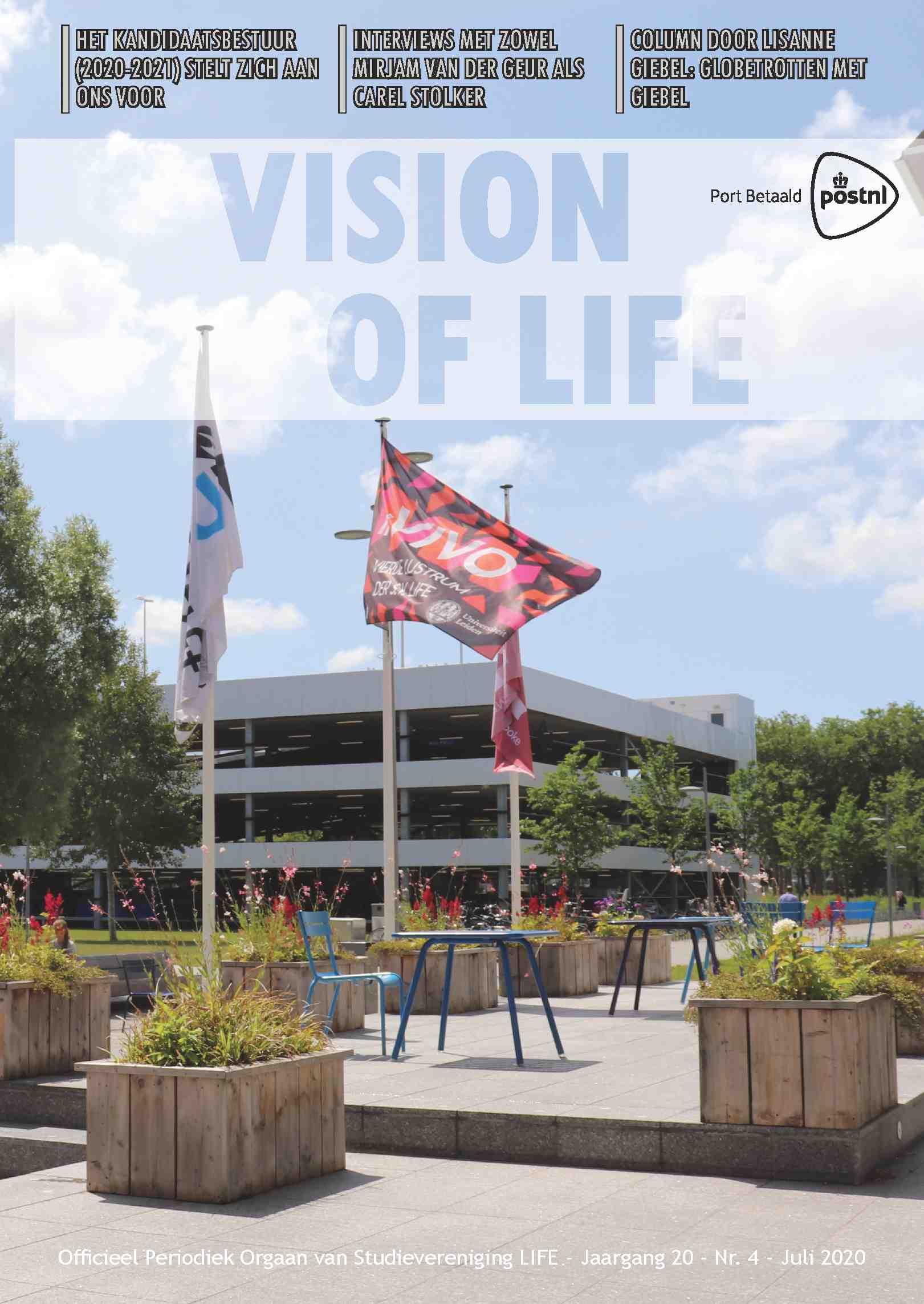 Cover editie juli 2020